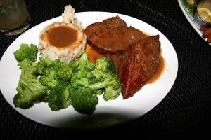 Dinner at Devils Backbone